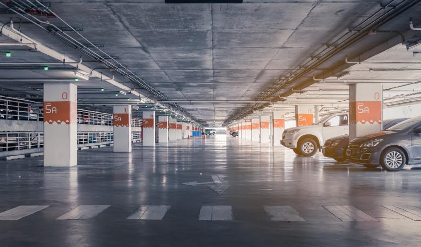Construcción de parking
