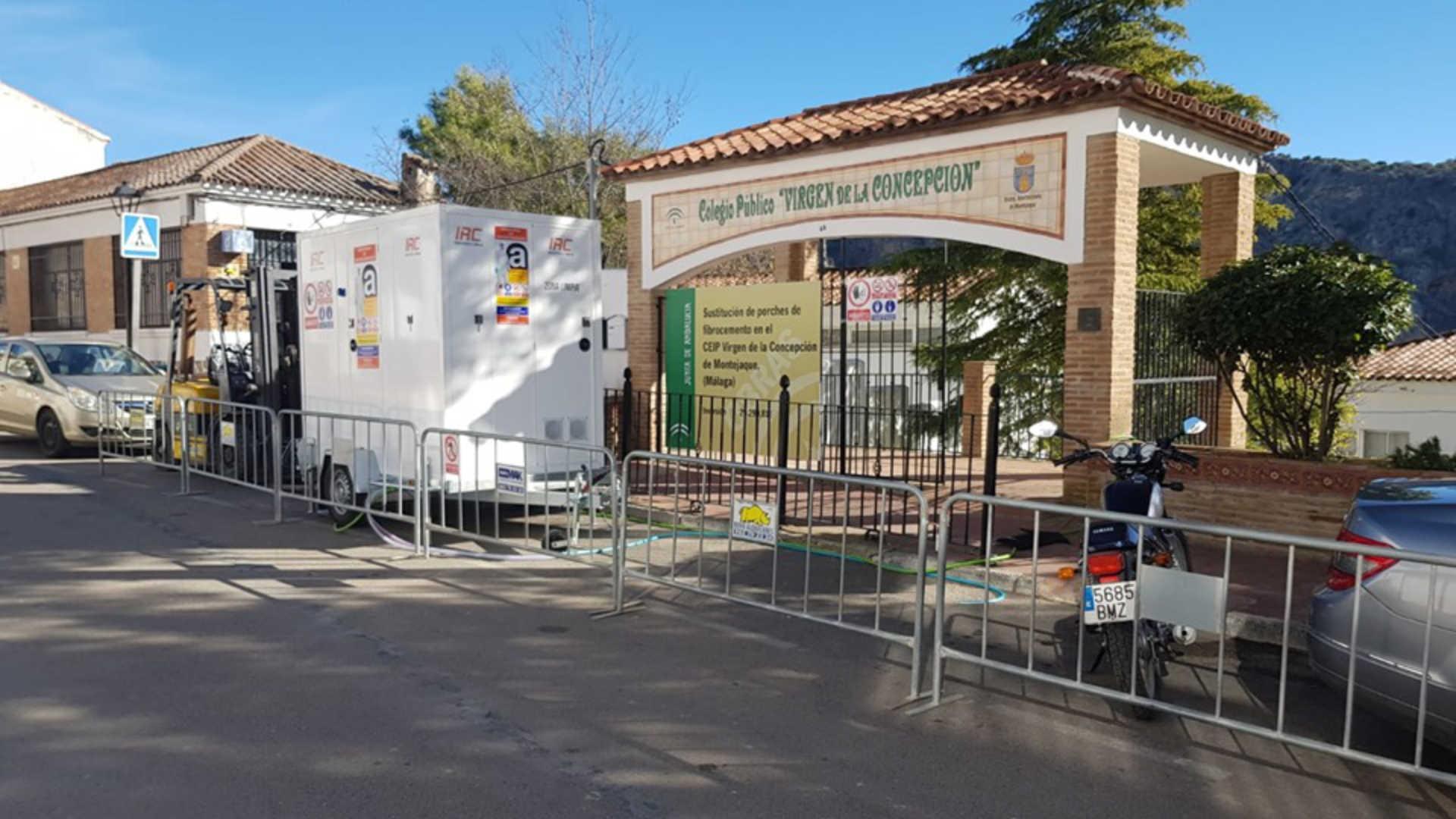 Desamiantado Colegio Virgen de la Concepción