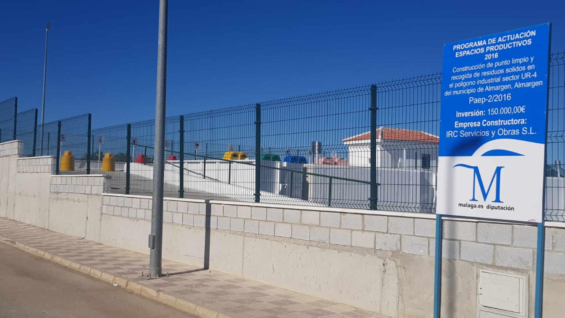 Punto limpio Diputación Málaga